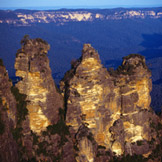 Australian Travel - The Three Sisters in the Blue Mountains great australia family vacation