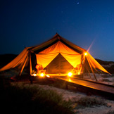 Sal Salis luxury safari tents in Western Australia