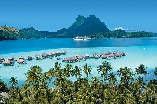 Cruise Bora Bora - Tahiti - all inclusive vacation - luxury - upgrade