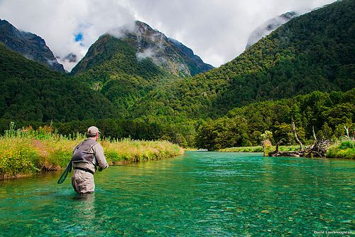 Custom-Built Australia and New Zealand Fishing Vacation - Trout Fishing in Fiordland National Park, New Zealand
