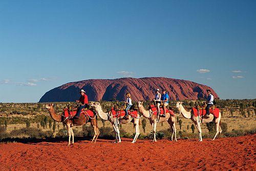 Australian Outback Family Adventure - Uluru Camel Tour