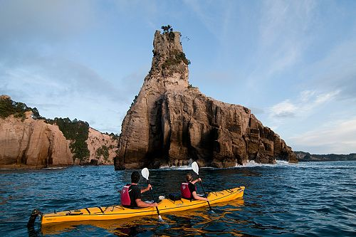 Kayaking in the Coromandel, New Zealand