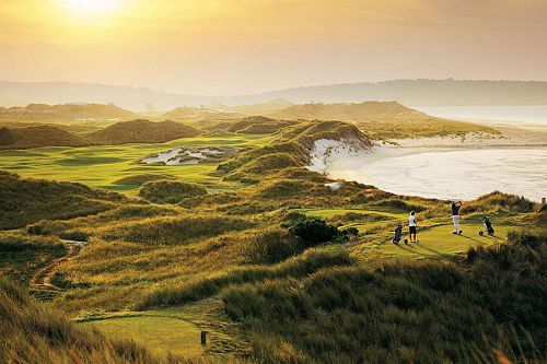 Barnbougle Lost Farm Golf Course in Tasmania, Australia