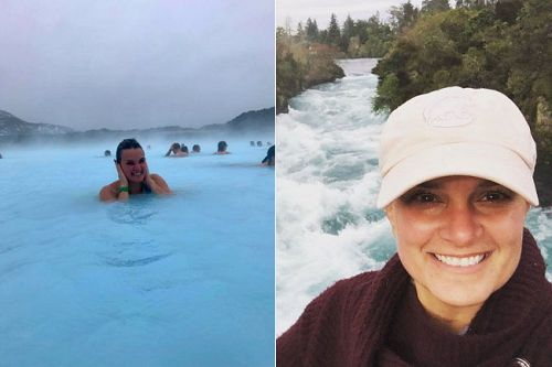Iceland vs New Zealand Travel - Winter Weather, Blue Lagoon and Huka Falls
