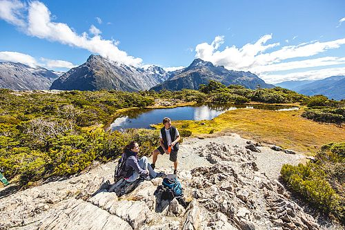Beautiful Scenery on New Zealand's Routeburn Track