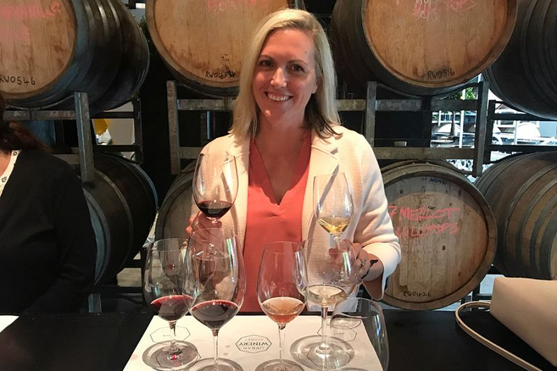 Candice Heckel - Wine Tasting in Sydney - Australia New Zealand Travel Agency