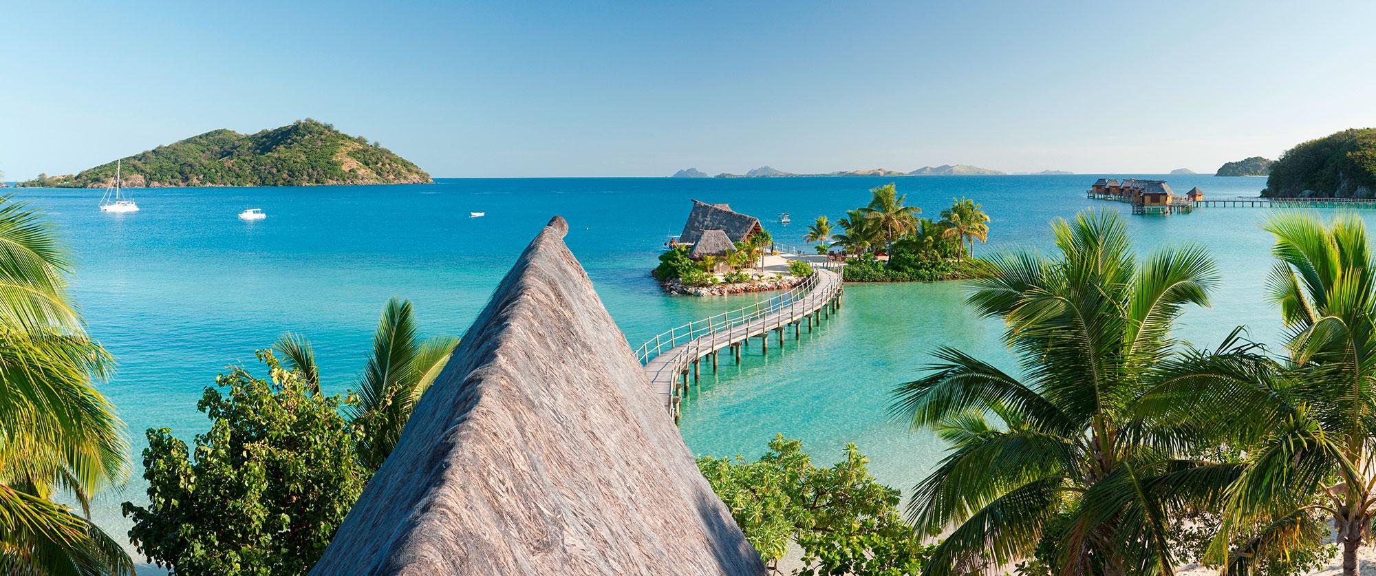 Fiji Overwater Bungalows: Fiji Beach Resort Vacation
