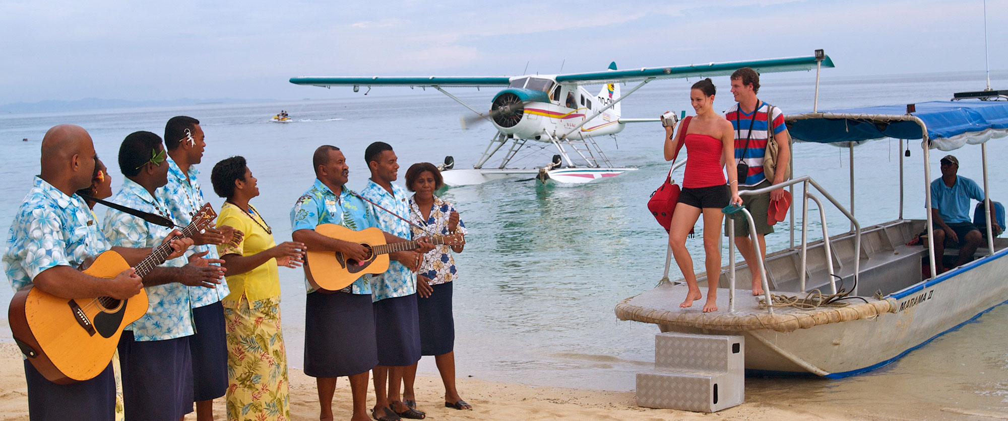 New Zealand Fiji Package Culture - Castaway Island Fiji