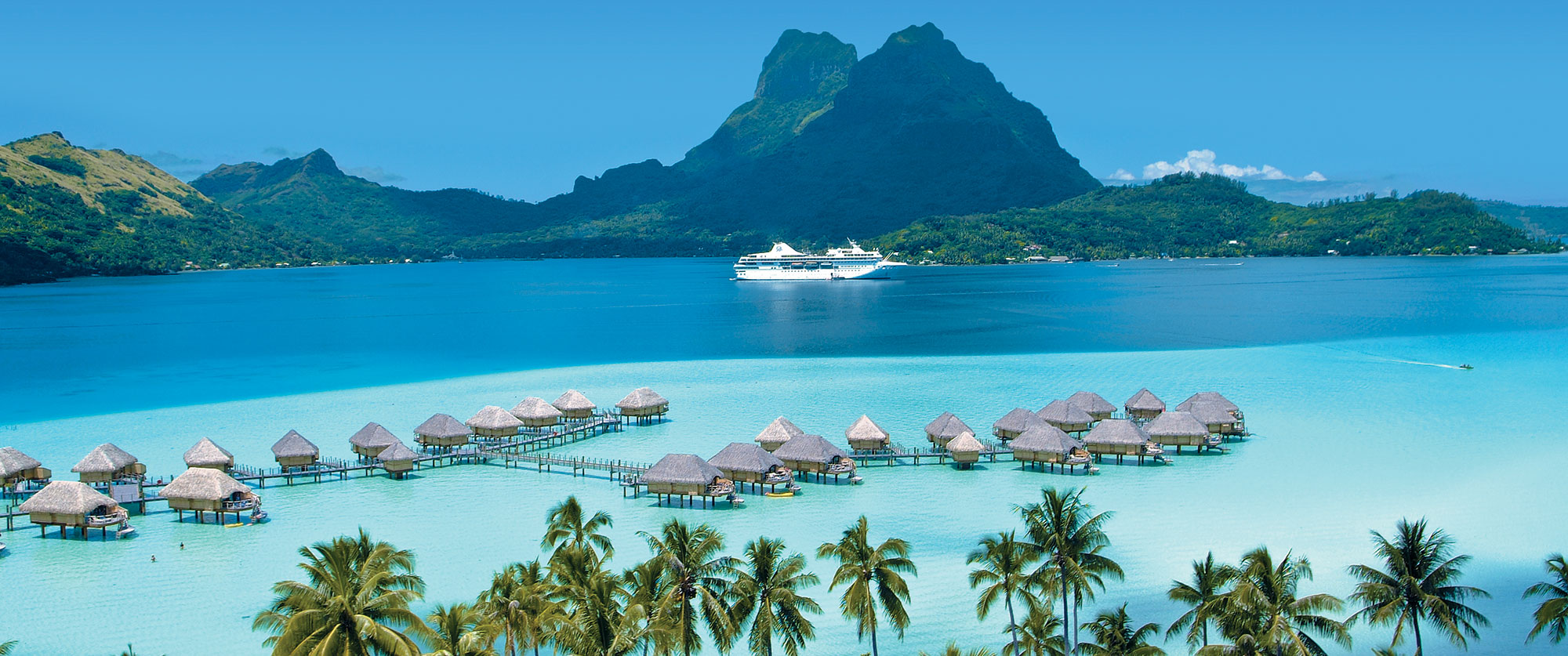 Bora Bora Cruise - Luxury Cruise Vacation of Bora Bora and Tahiti