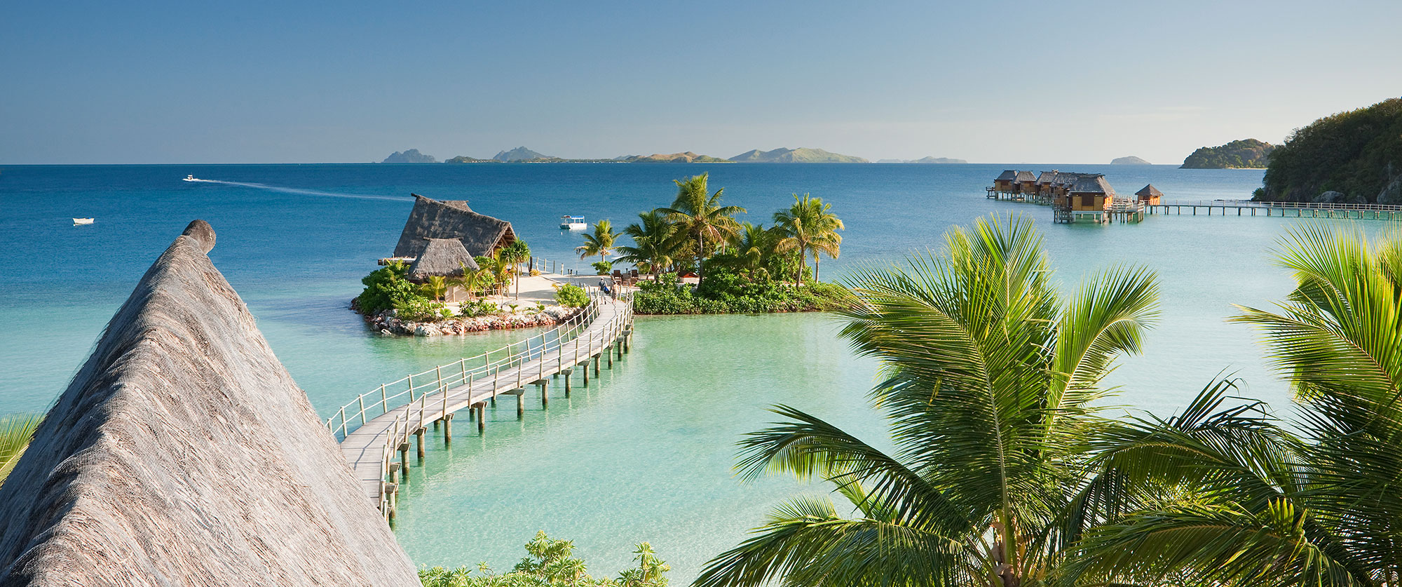 Fiji Resorts Overwater Bungalows