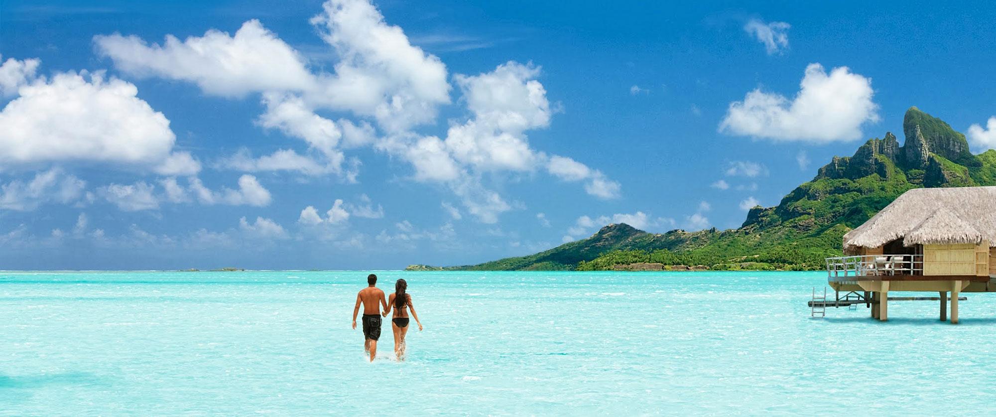 Tahiti Honeymoon Vacation Packages, Overwater Bungalows in Bora Bora