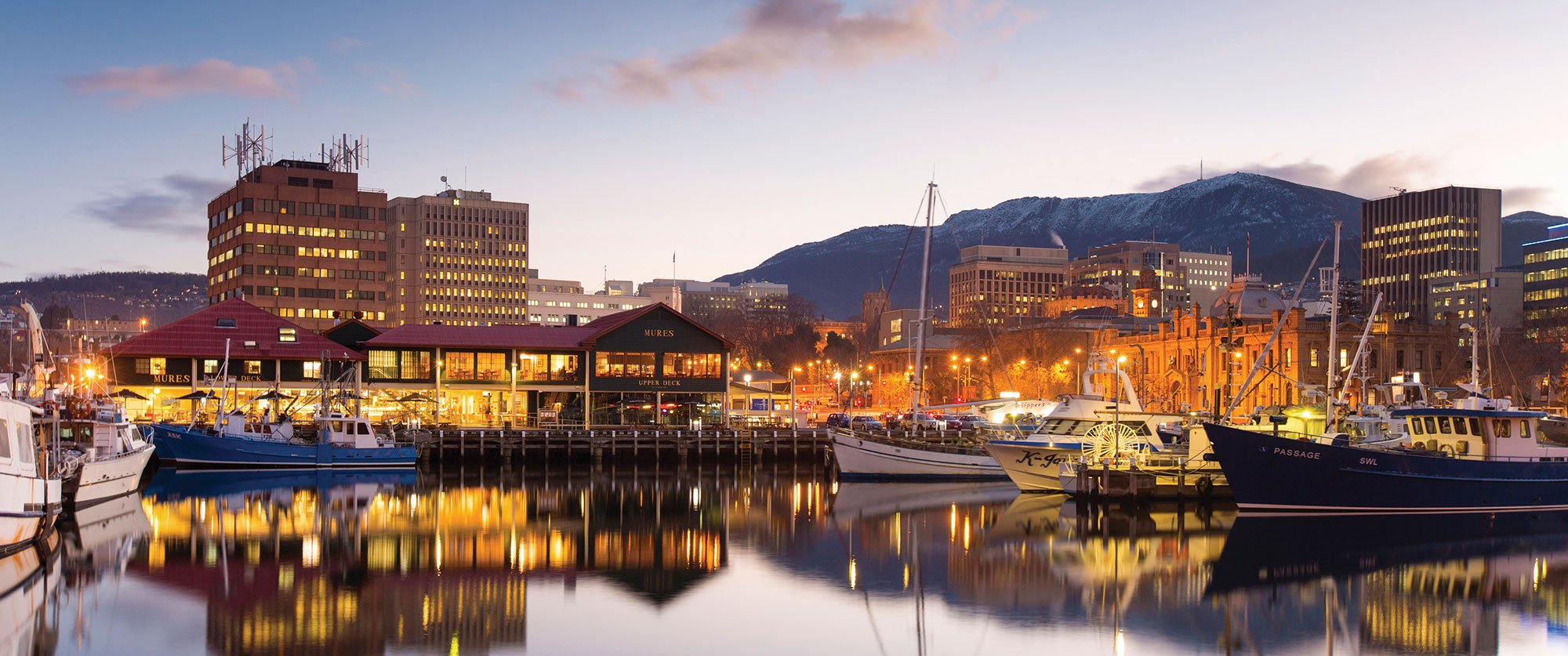 Australia Cook Islands Getaway - Hobart Tasmania