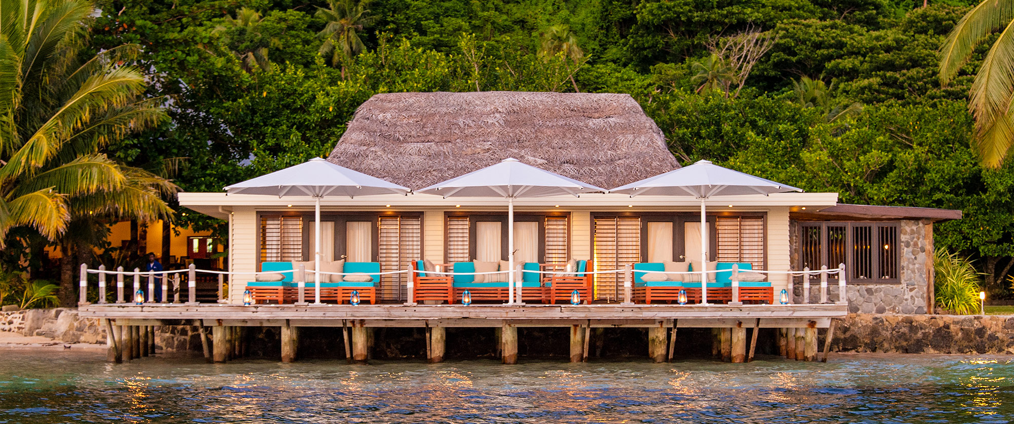 Spa at Matangi Private Island Resort, Fiji
