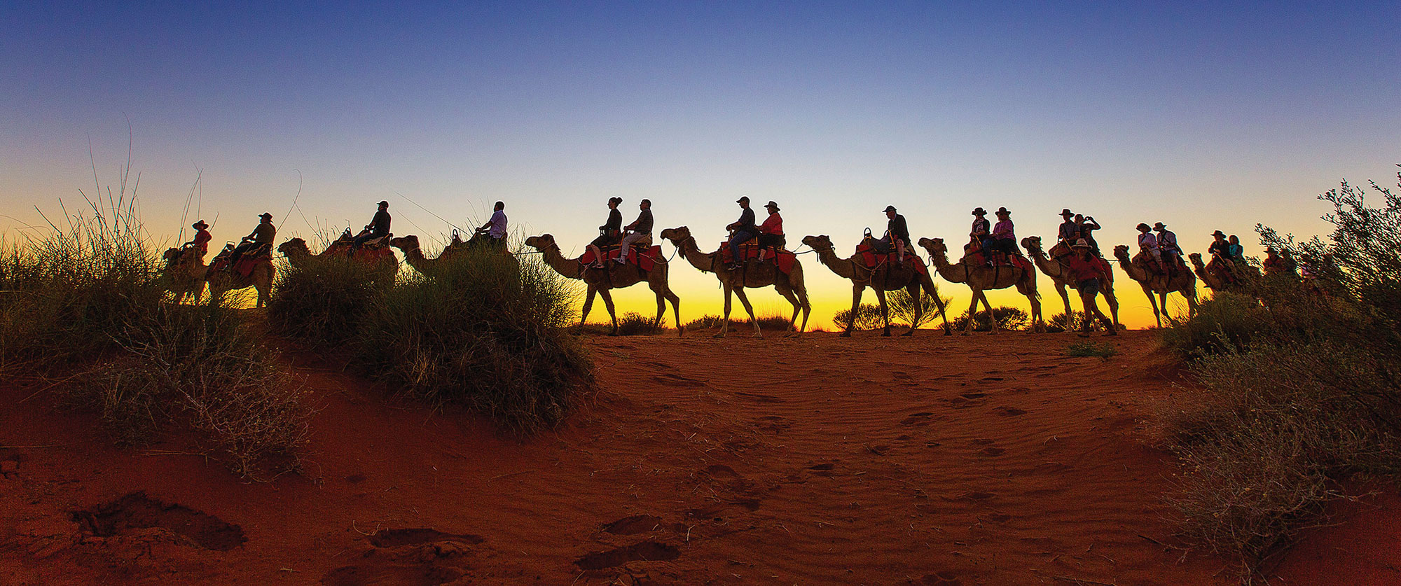 Australia Outback Vacation Uluru Camel Ride