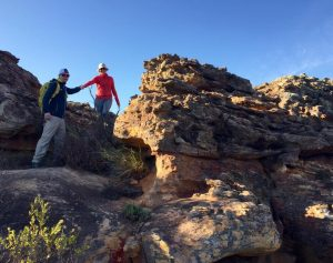 Hiking at Bushman's Kloof - South Africa