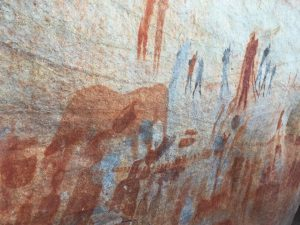 Cave Paintings by Bushman's Kloof