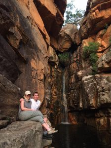 Waterfall at Bushman's Kloof