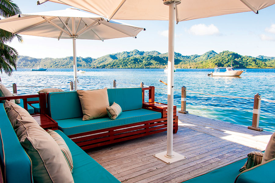Luxury Fiji vacation packages - Matangi Private Island Resort Fiji