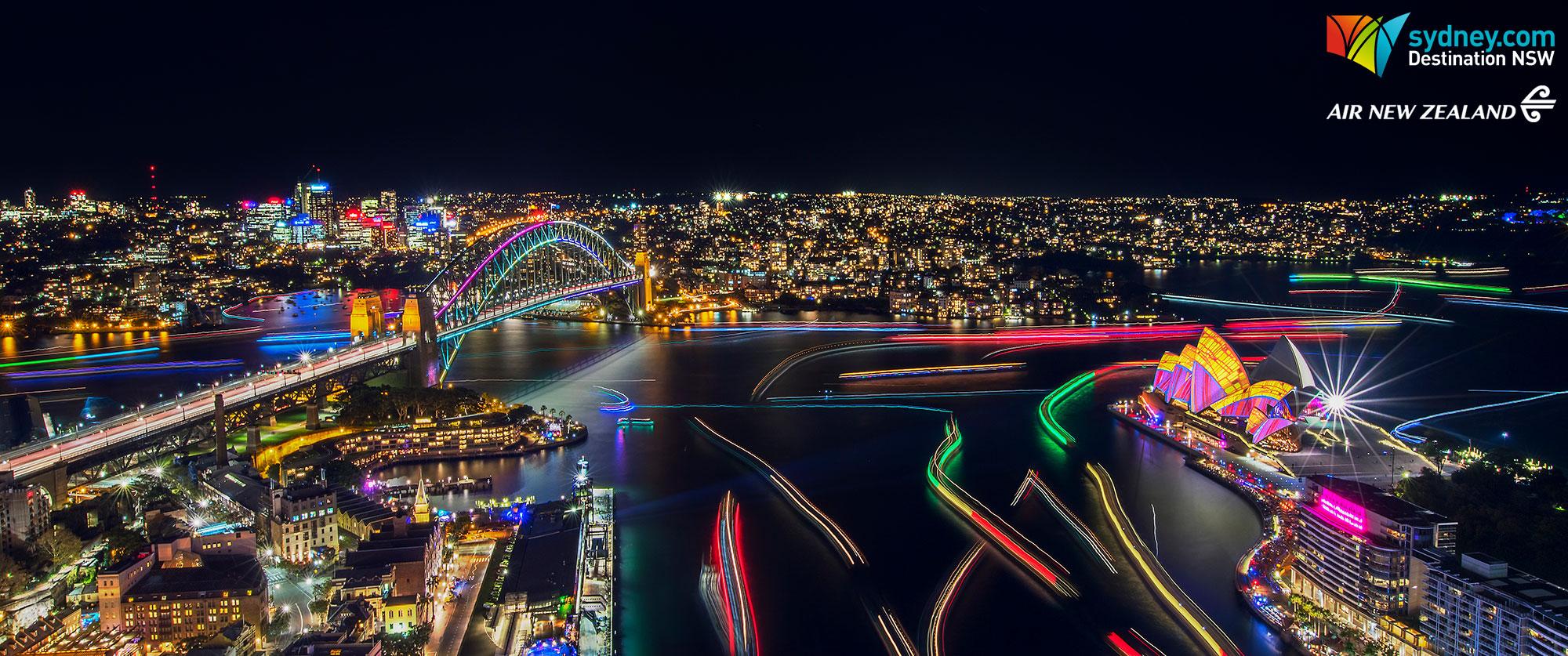 Luxury Australia Vacations: Vivid Sydney Adventure