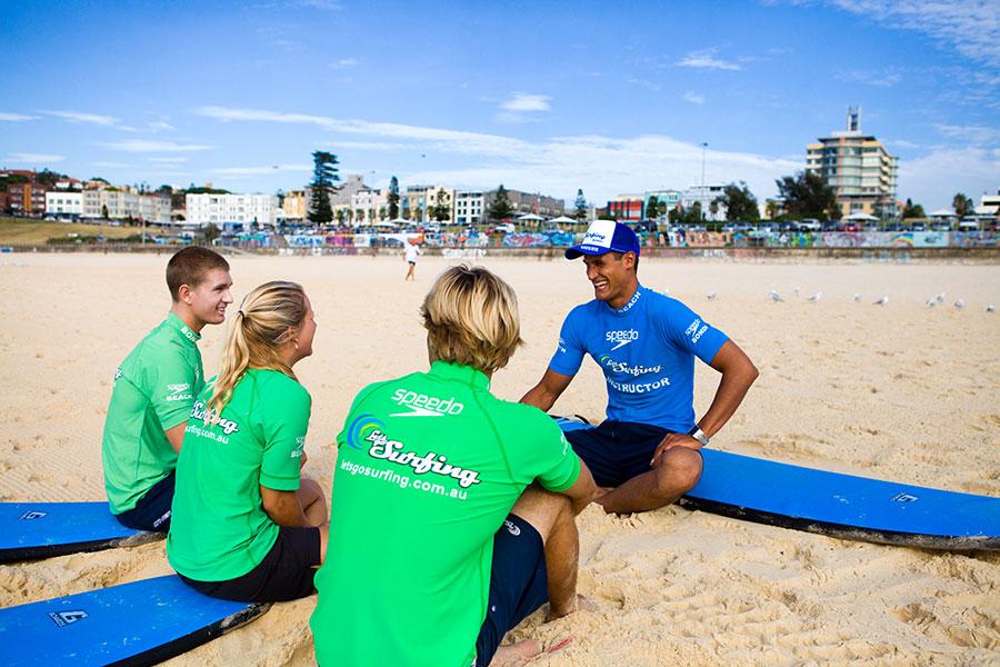 Let's Go Surfing - Bondi Beach, Sydney Australia