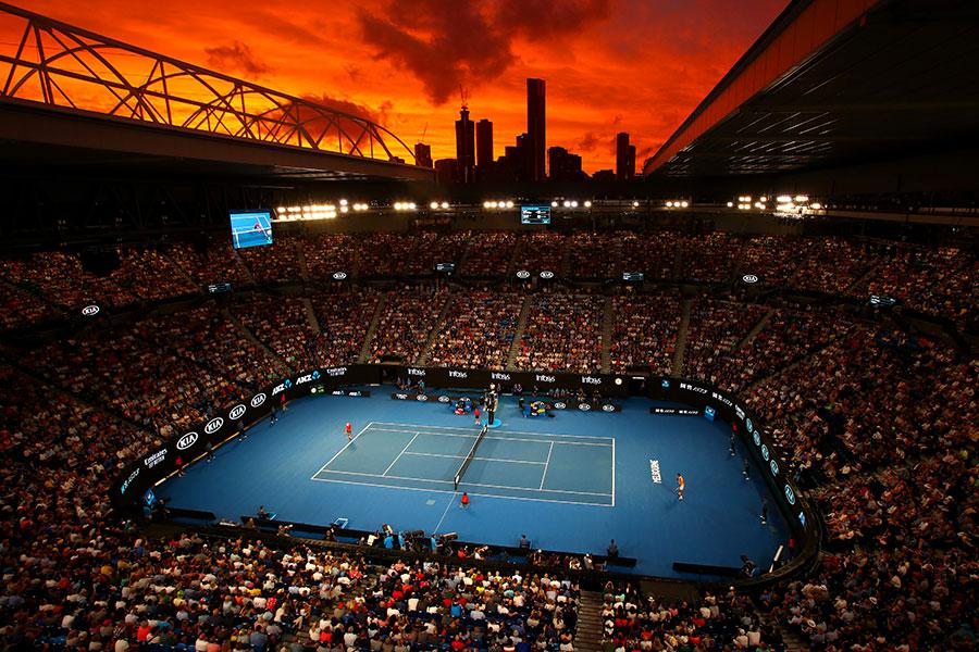 australian open 2020 tennis vacation  semis and finals