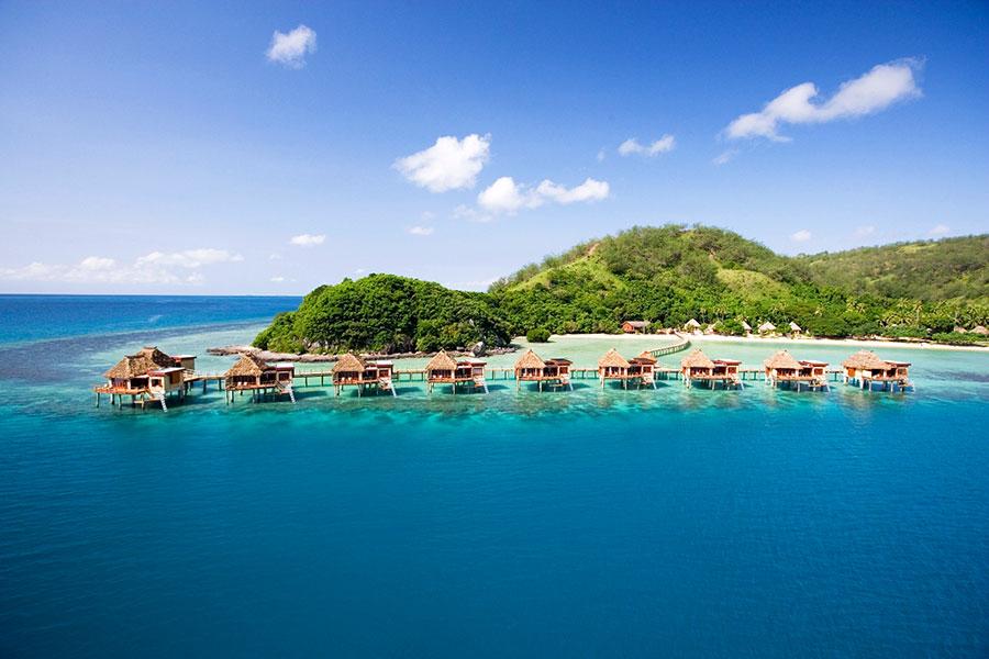 Fiji Overwater Bungalows - Likuliku Lagoon Resort Fiji