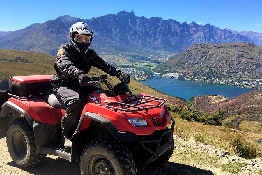 New Zealand Vacations - Nomad Safaris Quad Biking