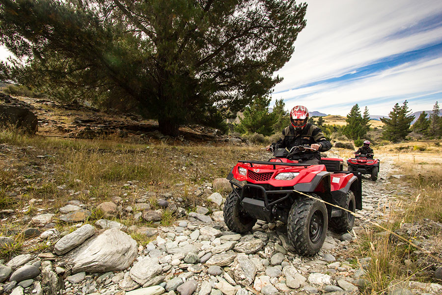 New Zealand Vacations - Nomad Safaris Quad Biking