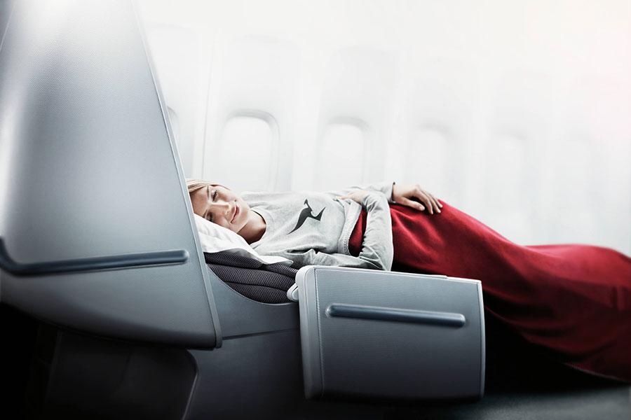 Qantas Business Class Lie-Flat Beds - Book Your Trip to Australia