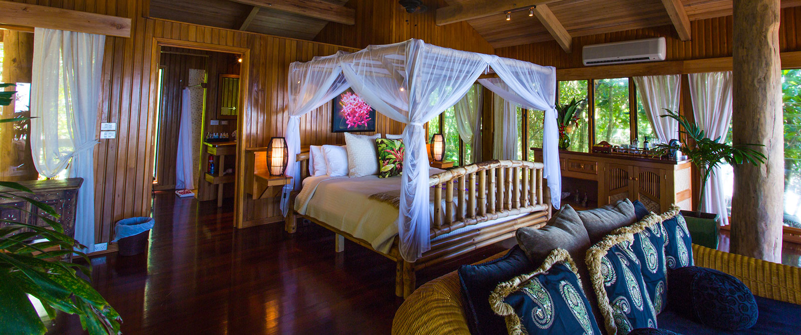 Ocean Tropical Bure at Namale Resort & Spa Fiji - Active Nature Retreat Package