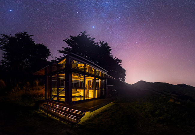Uninterrupted Views of the Night Sky at the Pōhue PurePod