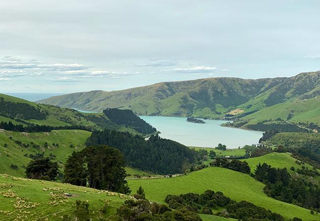 Stunning Views of Banks Peninsula - Pure Pods New Zealand